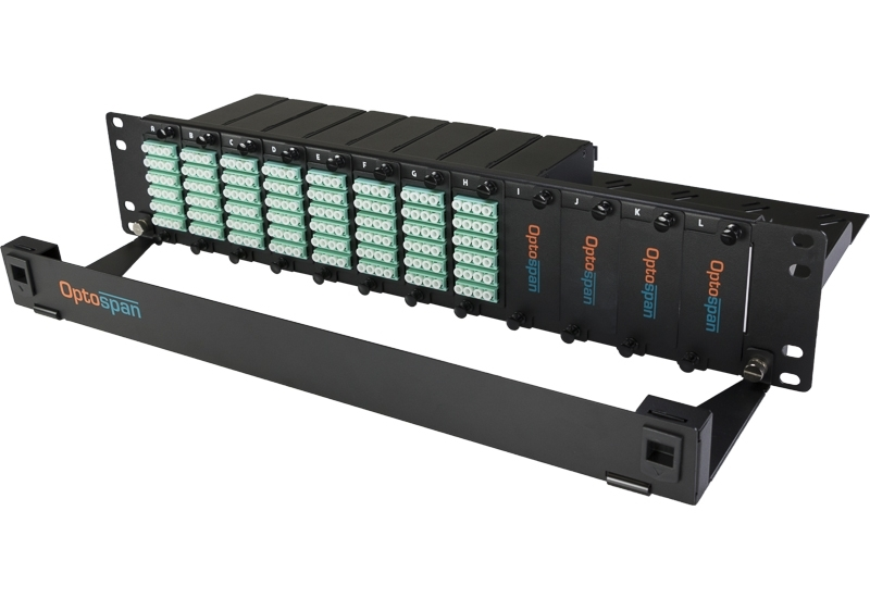 192 Port Fiber Optic Patch Panel 2U Multimode 24F MTP-LC
