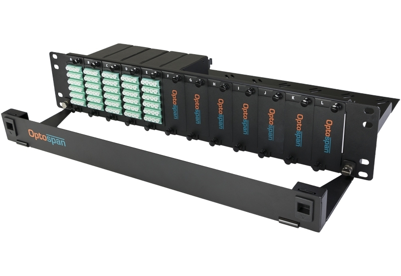 120 Port Fiber Optic Patch Panel 2U Multimode OM4 MTP-LC