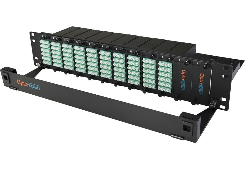240 Port Fiber Optic Patch Panel 2U Multimode OM4 MTP-LC