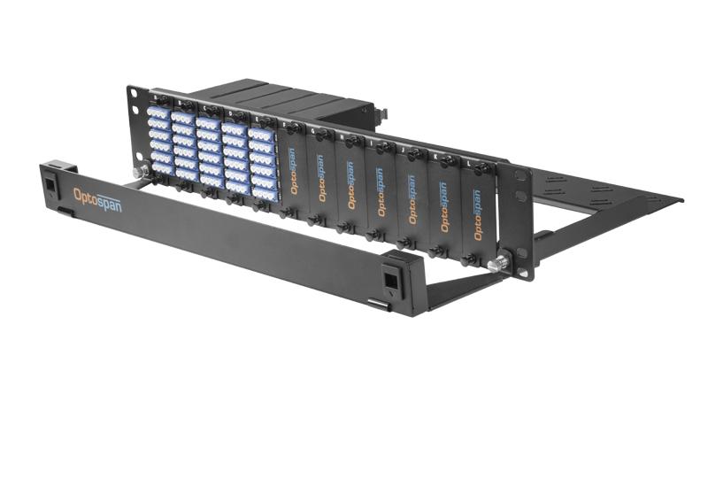 120 Port Fiber Optic Patch Panel 2U Single mode 24F MTP-LC