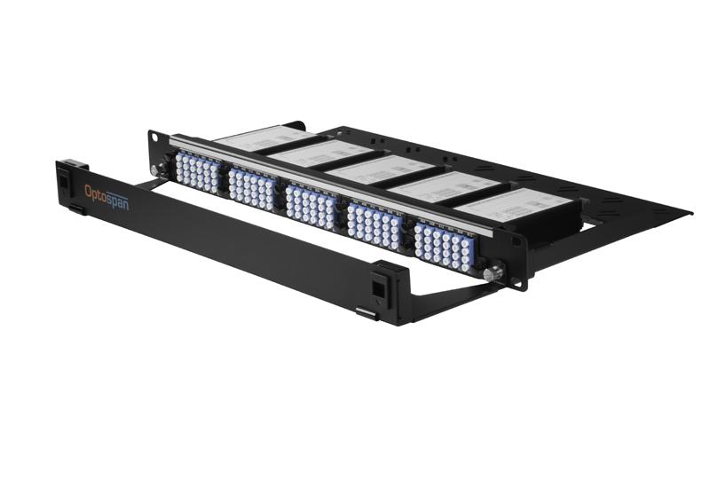 120 Port 1U Fiber Optic Patch Panel Single mode MTP-LC