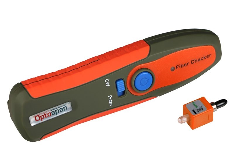 LC/SC/FC/ST Fiber Optic Cable Tester for Troubleshooting