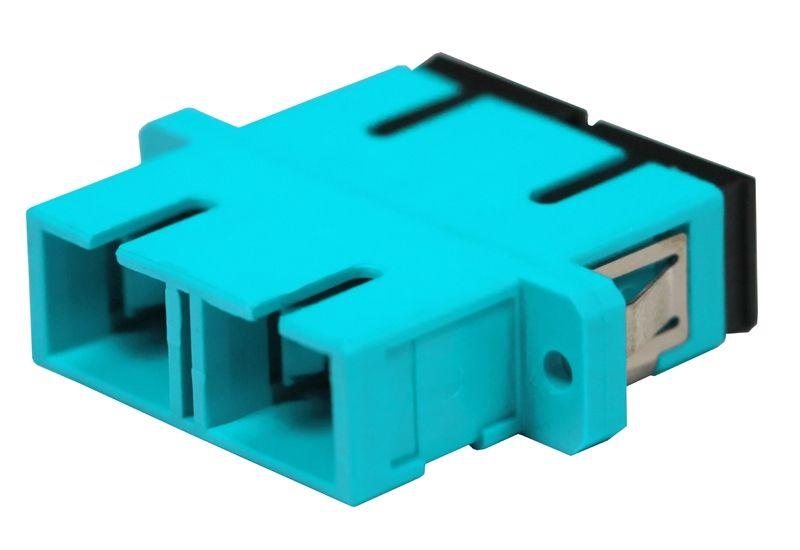 Fiber Optic Adapter SC Multimode (OM3/OM4) Duplex Full Flange
