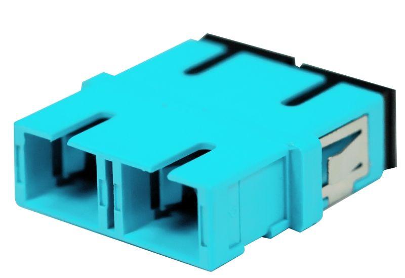 Fiber Optic Adapter SC Multimode (OM3/OM4) Duplex No Flange