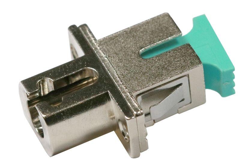 Fiber Optic Adapter SC Multimode (OM3/OM4) Simplex Full Flange