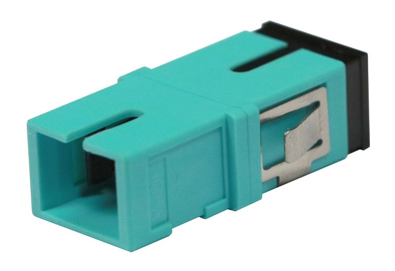 Fiber Optic Adapter SC Multimode (OM3/OM4) Simplex No Flange
