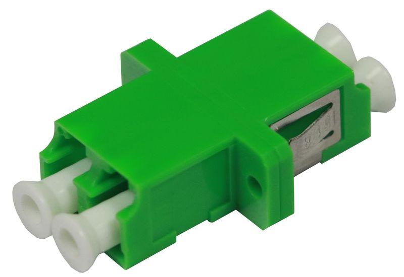 Fiber Optic Adapter LC APC Single-mode Duplex Full Flange
