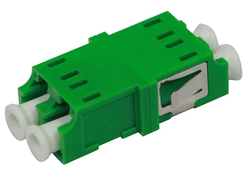 Fiber Optic Adapter LC APC Single-mode Duplex No Flange