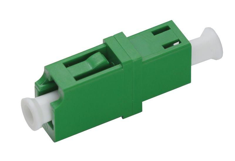 Fiber Optic Adapter LC APC Single-mode Simplex No Flange