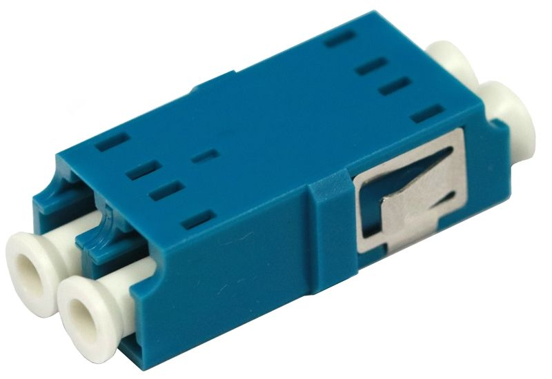 Fiber Optic Adapter LC Single-mode Duplex No Flange