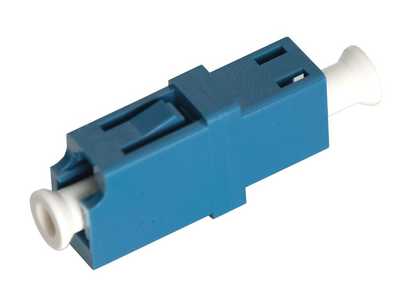 Fiber Optic Adapter LC Single-mode Simplex No Flange