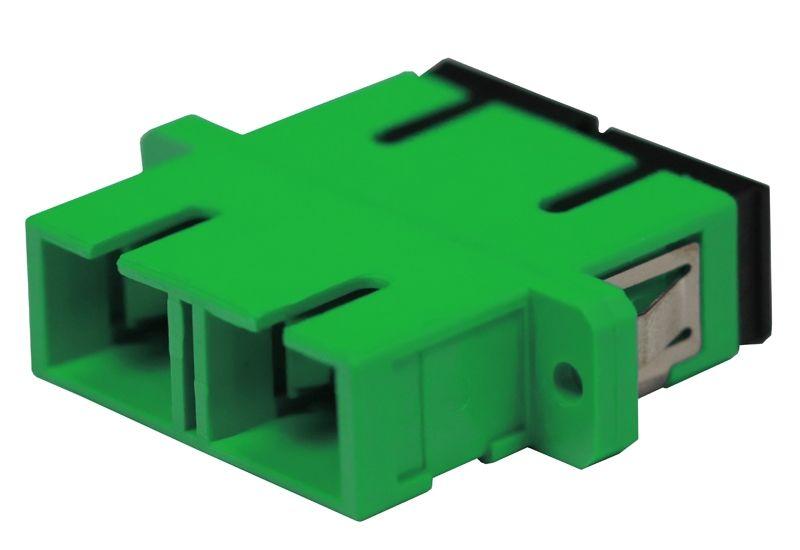 Fiber Optic Adapter SC APC Single-mode Duplex Full Flange