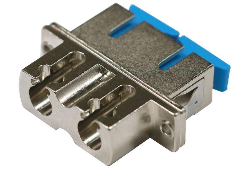 Fiber Optic Adapter SC Single-mode Duplex Full Flange