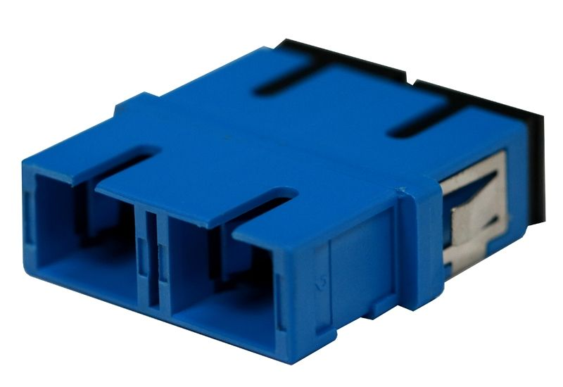 Fiber Optic Adapter SC Single-mode Duplex No Flange