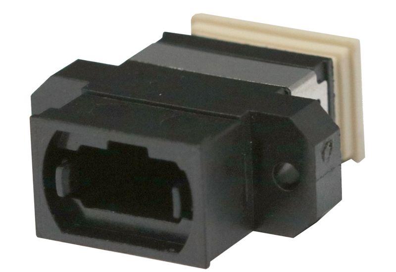 Fiber Optic Adapter MPO Multimode/Single-mode   (Key-up to Key-down) Full Flange