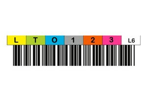 Media & Tape Cartridge Barcode Labels