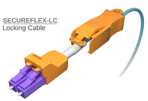 SecureFlex™ Secure Locking LC/SC Fiber Cables