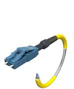 SteelFlex Armored Fiber Patch Cables