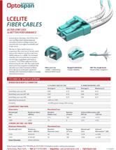 LCElite™ Ultra Low Loss Fiber Cables