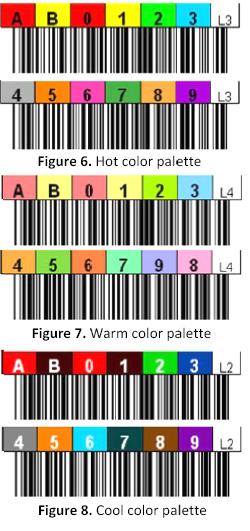 LTO Color Palettes
