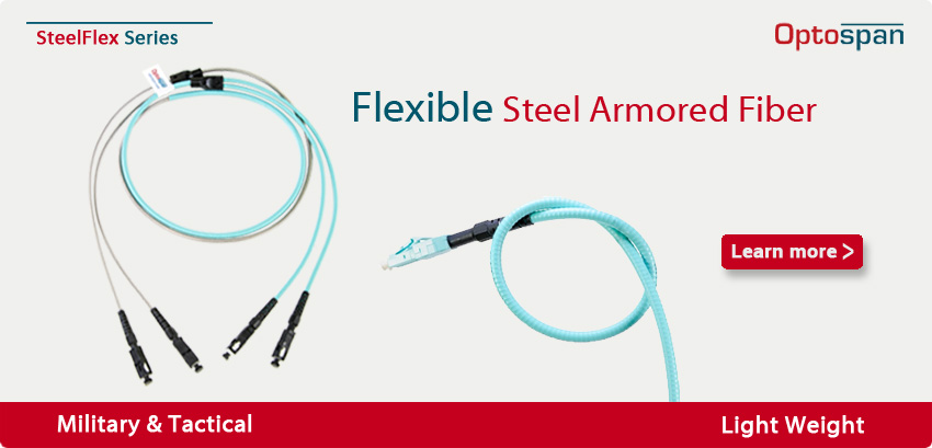 SteelFlex Armored Fiber Optic Cables